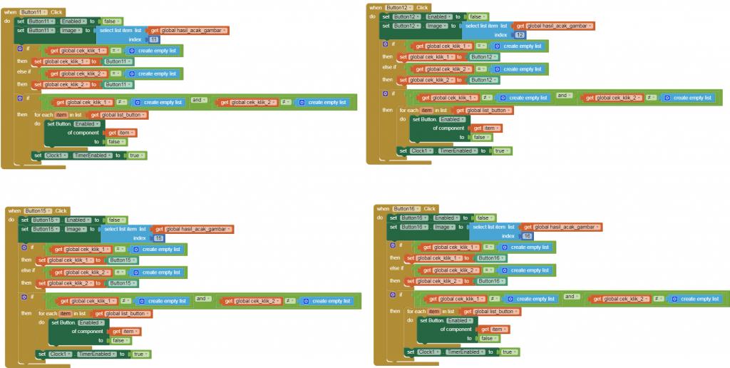 kode program button game 4