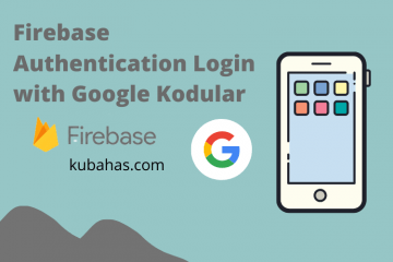 Firebase Authentication Login with Google Kodular