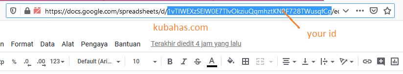 ID spreadsheet