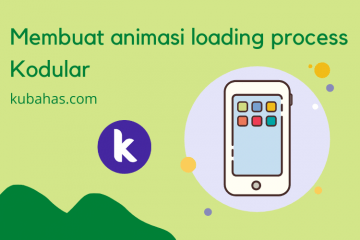 Membuat animasi loading process Kodular