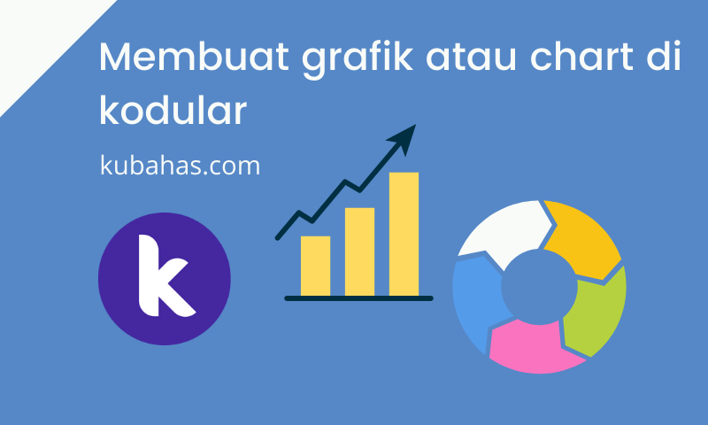 Membuat grafik atau chart di kodular